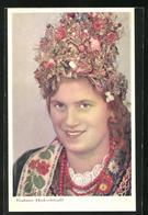 AK Polnische Frau In Krakauer Hochzeitstracht - Ethnics
