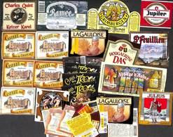 Lot 22 Etiquettes Bière (Grimbergen Ramée Charles Quint La Gauloise Julius...) (Lot 1) - Bière