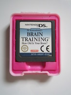 JEU DS BRAIN TRAINING - Nintendo Game Boy