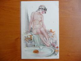 CPA - Ney - A Sa Toilette - Série 29, N°145 - éditions Delta, Paris - Nue - Nude Lady - Autres Illustrateurs