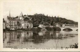 CPA - VERETZ - VUE D'ENSEMBLE PRISE DE L'ANCIEN MOULIN (ETAT PARFAIT) - Other Municipalities