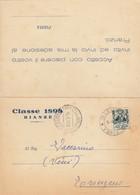 9467-AVVISO PARTECIPAZIONE PRANZO DI LEVA CLASSE 1898 - BIANZE'(VERCELLI) - Partecipazioni