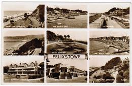 Felixtowe, 12 Views (pk59708) - England