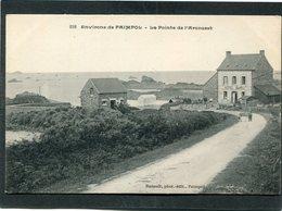 CPA - Environs De PAIMPOL - La Pointe De L'Arcouest - L'Hôtel Barbu, Animé - Paimpol