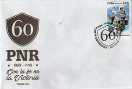 Cuba 2019 60th Anniversary Of National Police 1v FDC`s - Polizia – Gendarmeria