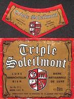 Triple Soleilmont Brasserie Gilly - Birra