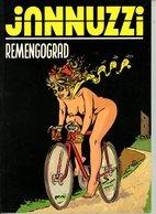 Jannuzzi - Remengograd (1ste Druk) 1993 - Sombrero, Zwarte Reeks