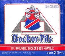 Bockor Pils Brouwerij Bochor Kortrijk - Beer