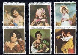 APR1154 - PARAGUAY 1968 ,  Serie Nuova Integra ***  MNH  (2380A) . - Paraguay