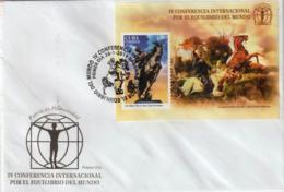 Cuba 2019 IV International Summit For Worldwide Balance. Horse S/S FDC`s - Caballos