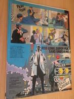 SPI2019 : PAGE Plastifiable Sur Demande REVUE SPIROU Année 1975 76 1 JESS LONG PAGE ANNONCE SORTIE NOUVEL ALBUM - Jess Long