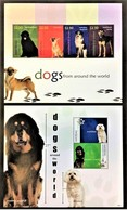 # Grenadines Of St.Vincent 2010**Mi.80-85 Dogs , MNH [11;190] - Dogs
