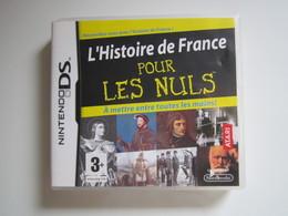 JEU NINTENDO DS L'HISTOIRE DE FRANCE POUR LES NULS - Nintendo Game Boy