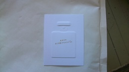 Carte Parfumée Chanel Coco Mademoiselle Relief - Perfume Cards