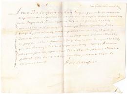 1702+ 3 Dokumente Mit Stempelpapier Taxen - Documents Historiques