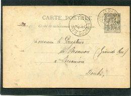 Entier Postal, 1895 - Cartes Précurseurs