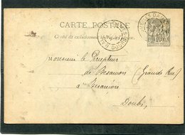 Entier Postal, 1895 - Cartoline Precursori