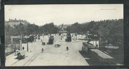 Rhône. Lyon , Carte Panoramique 27cm X 14cm , La Place Carnot - Lyon 1