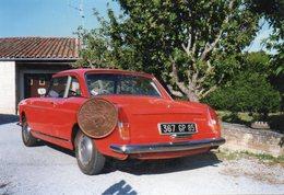 Photographie Originale. Automobile Peugeot 404 Coupé. - Cars