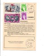 AFFRANCHISSEMENT COMPOSE SUR ORDRE DE REEXPEDITION DE ARAMON GARD 1980 - Marcophilie (Lettres)