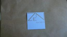 Carte Parfumée Shiseido  Zen For Men - Perfume Cards