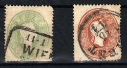 Austria Nº 18 Y 20. Año 1881 - 1850-1918 Imperium