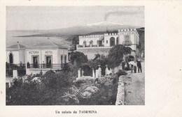TAORMINA-MESSINA-VICTORIA HOTEL-CARTOLINA NON VIAGGIATA ANNO 1906-1910 - Messina