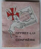 Calendrier 1955 Confiserie Saint Pierre Courtois Mauberna 33 Rue Chaillot Paris - Calendarios
