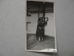 PHOTO ORIGINALE - Scène Animée - Singerie - Anonieme Personen