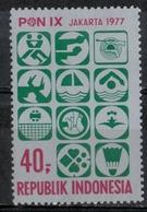 Indonesia 1977 - Pallavolo Volley MNH ** - Pallavolo