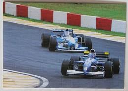 Calendrier Voiture Formule 1 F1 Coiffure à Domicile Nicole Leroux Placé 1999 - Calendarios