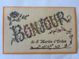 CPA (89) Yonne - Bonjour De Saint Martin D'Ordon - Autres Communes