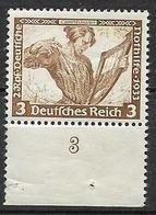 GERMANIA REICH TERZO REICH 1939 OPERE MUSICALI DI WAGNER UNIF. 470 MNH XF - Duitsland
