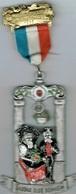 Marche Populaire Internationale  Badona Club Beinheim 1985 - Entriegelungschips Und Medaillen