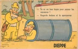 76 - DIEPPE - Carte à Systeme - Bon Tuyau - Dieppe
