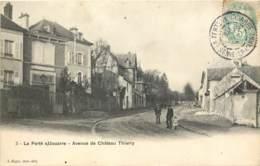 77 - LA FERTE SOUS JOUARRE - Avenue De Chateau Thierry En 1905 - La Ferte Sous Jouarre