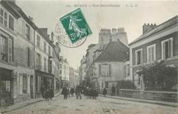 77 - MEAUX - Rue Saint Nicolas - Animée 1908 - Meaux