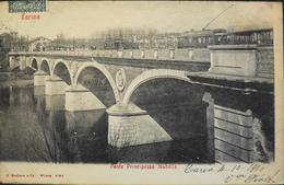 CPA. > Europe > Italie > Piemonte > Torino (Turin) Ponte Princesse Isabella Daté 1906 - TBE - Bridges