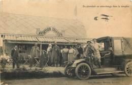78 - TOUSSUS LE NOBLE - Aviation Trianon - Taxi Animé - Toussus Le Noble