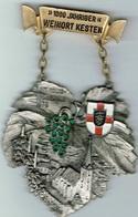 1000 Jahriger WEINORT KESTEN - Entriegelungschips Und Medaillen