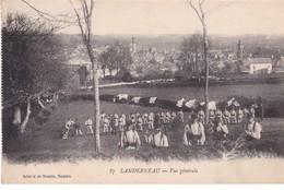 LANDERNEAU ,,,, VUE  GENERALE,,,,VOYAGE  1916 ,,,,TBE - Guerre 1914-18