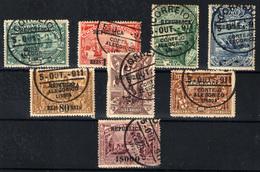 Portugal Nº 196/203. Año 1911 - 1910-... Republic