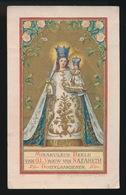 MIRAKULEUS BEELD VAN O.L.VROUW VAN NAZAREHT  OOST VLAANDEREN  11.5 X 7 CM - Images Religieuses