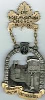 7 Int.Mosel Wanderung ENKIRCH 1979 - Entriegelungschips Und Medaillen