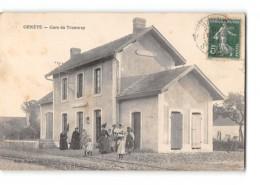 CPA 50 Genets La Gare - Autres Communes