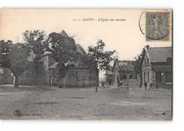 CPA 59 Maing L'église Vue Derriere - France
