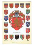 Cpm - Province ROUERGUE - Blason R. Louis - Conques Coquille MILLAU RODEZ LAGUIOLE DECAZEVILLE ESTAING - Millau