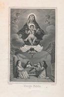 IMAGE PIEUSE HEILIG PRENTJE 11 X 7 CM  - DOPTER - VIERGE FIDELE - Images Religieuses