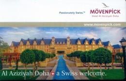 Qatar Hotel Key, Movenpick Hotel Al Aziziyah Doha (1pcs) - Qatar
