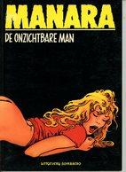 Manara - De Onzichtbare Man (1ste Druk) 1987 - Sombrero, Zwarte Reeks